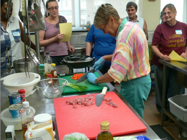 Set up healthy cooking classes