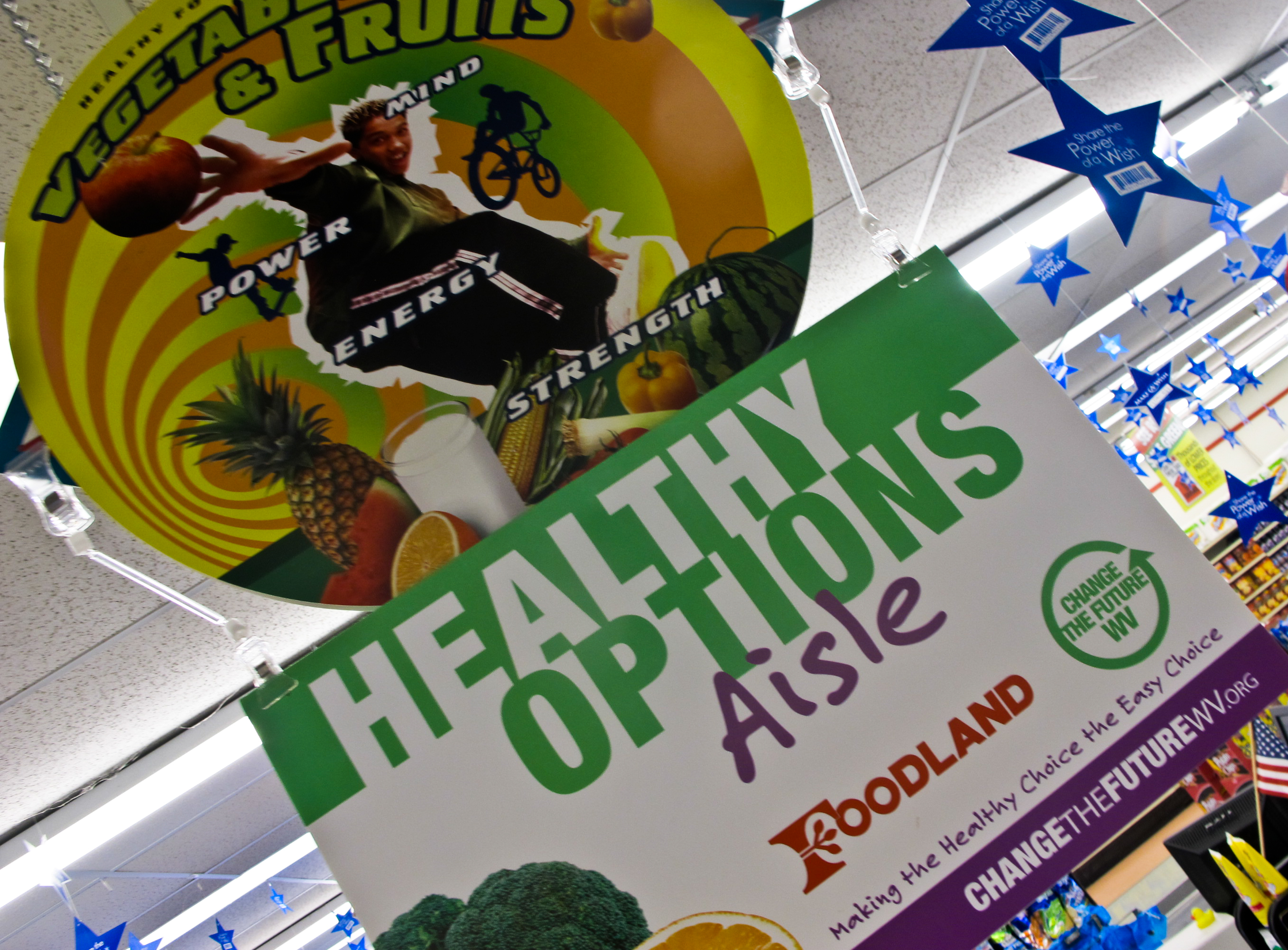 grocery stores  feature healthy items