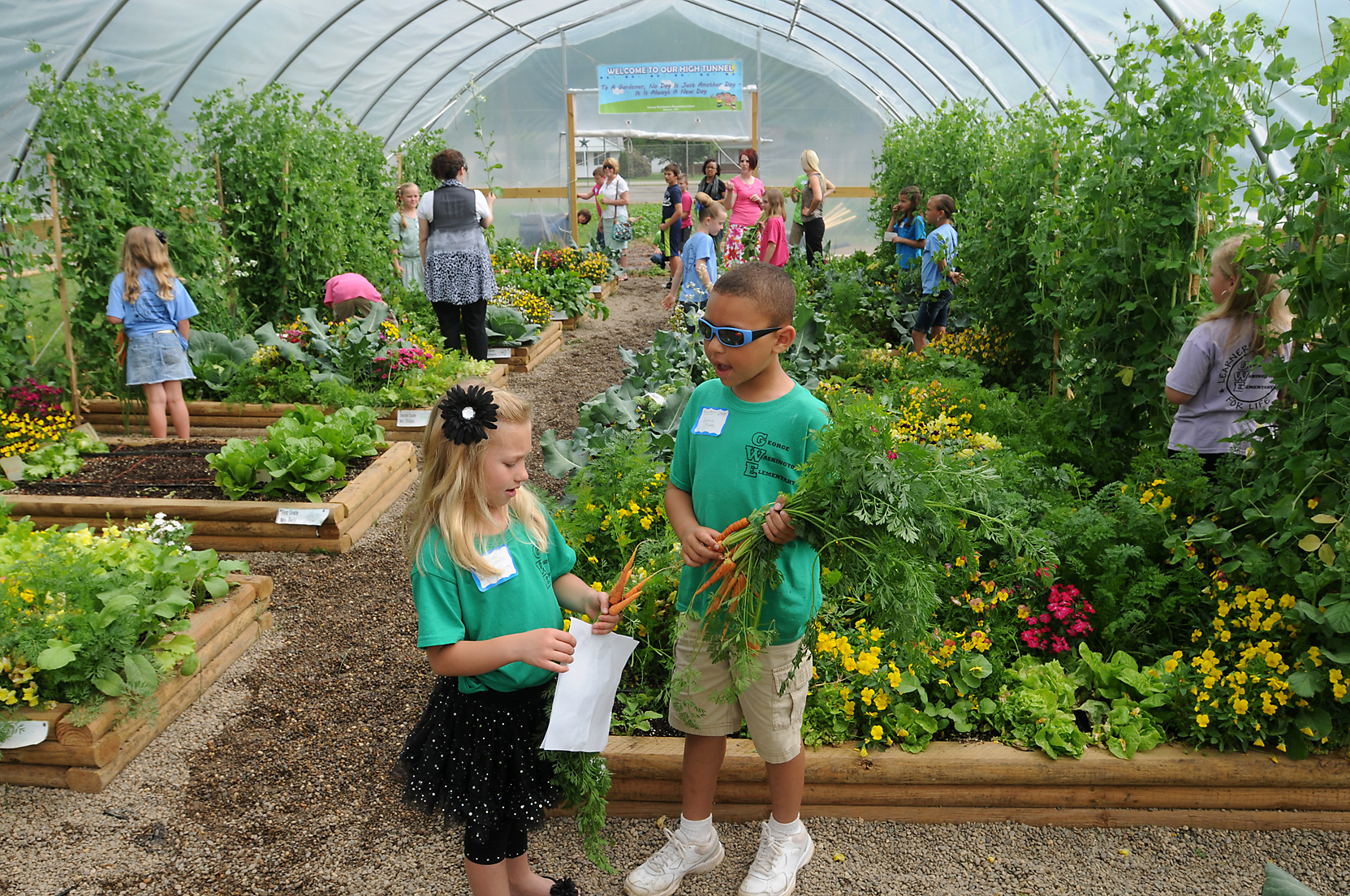 Create a children s gardening program try this Garden design school