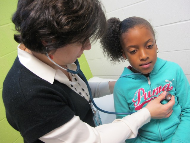 Start / expand a school-based health center.
