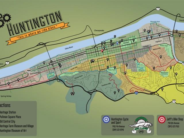 Encourage bike commuting / Make a safe biking map.