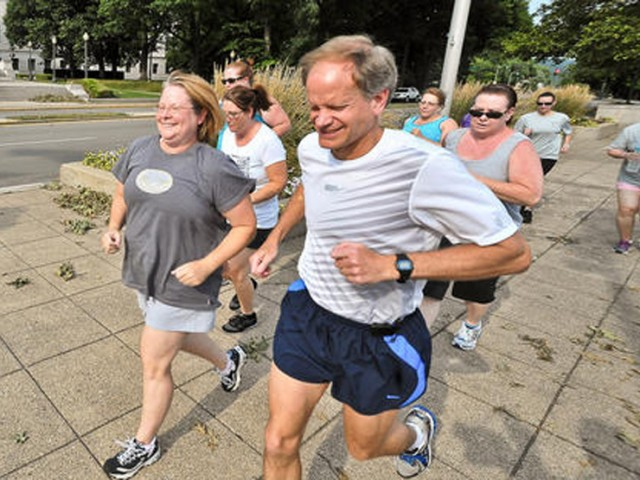 Offer beginner running classes.