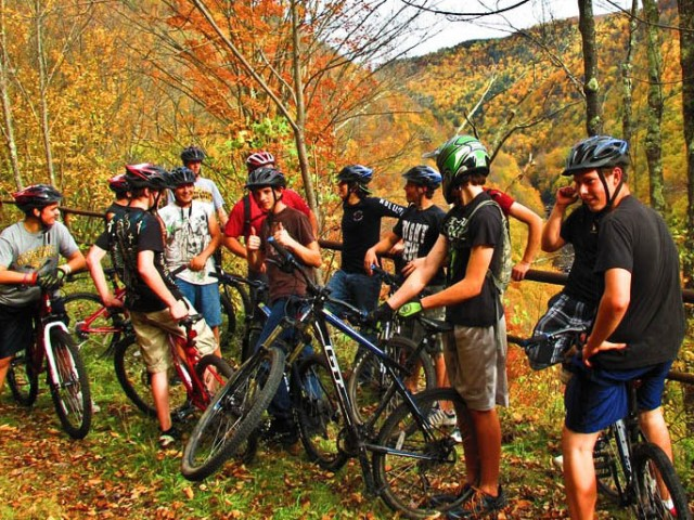 Encourage mountain biking