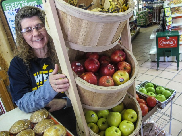 Ask convenience stores to sell fresh produce
