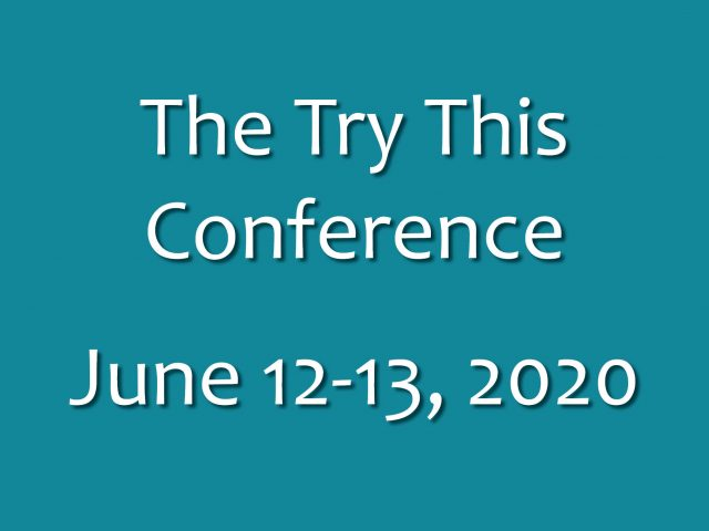 See you at the Try This Conference!