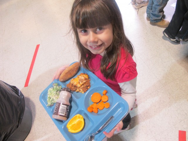 Attract kids to healthy foods by attractive presentation
